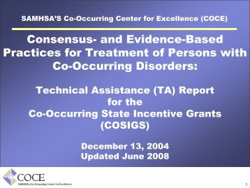and evidence-based practices - Homelessness Resource Center