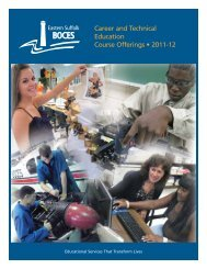 Career and Technical Education Course Offerings • 2011-12