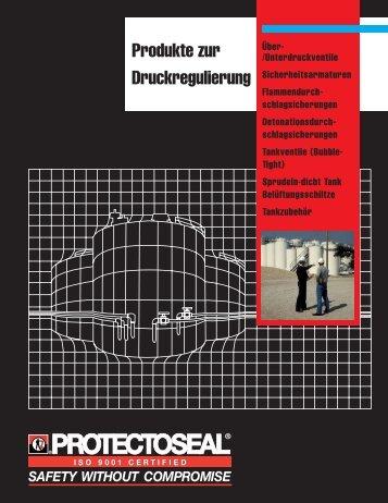Produkte zur Druckregulierung - Protectoseal