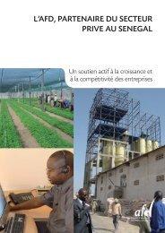 l'afd, partenaire du secteur prive au senegal - Agence Française de ...