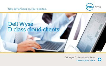 Dell Wyse D class cloud clients. - Wyse Technology