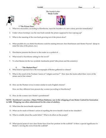 sample scarlet letter essay cibacs the scarlet letter study guide i