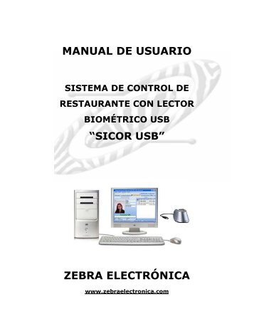 MANUAL SICOR.pdf - Zebra Electronica