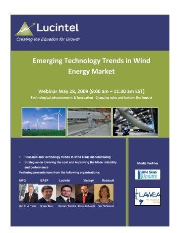 Emerging Technology Trends in Wind Energy Market - Lucintel