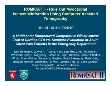 ROMICAT II - My AmericanHeart for Professionals (my ...