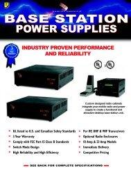 Base Station Power Supplies - Main Electronics