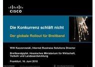 Die Konkurrenz schläft nicht - Breitband in Hessen