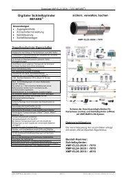 Datenblatt XMP-EL22-2626/7070
