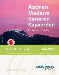 Azoren, Madeira, Kanaren und Kapverden