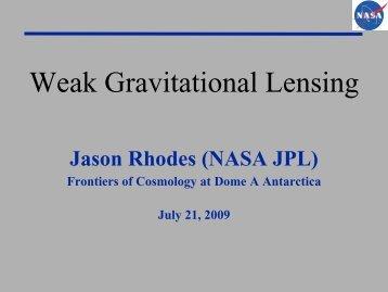 Weak Gravitational Lensing