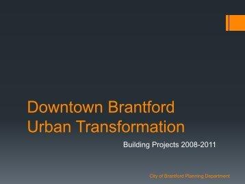 Urban Renewal - City of Brantford