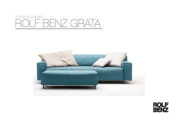 rb_GRATA_fr.pdf Technische Daten 319 K - Rolf Benz