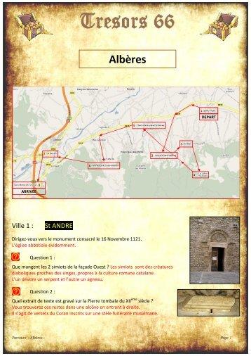 Alberes - Tresors 66