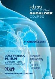 Shoulder Arthroplasty _ Current Concepts