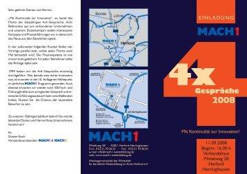 4Gespräche - MACH1 Weiterbildung