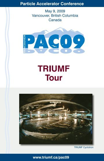 To download a PDF copy of the tour booklet, please click here.