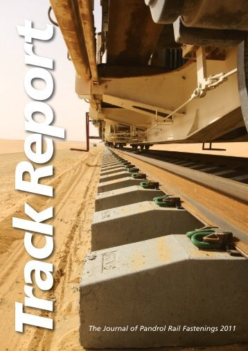 The Journal of Pandrol Rail Fastenings 2011 - Pandrol USA