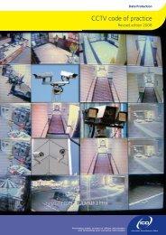 CCTV code of practice
