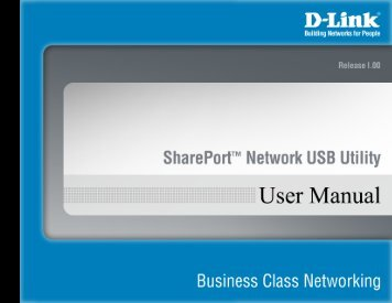 Install the D-Link Network USB Utility