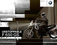 Katalog F 650 GS (PDF, 1,9 MB) - BMW Motorrad Österreich