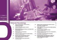Molecular Neurobiology - Universidad Autónoma de Madrid