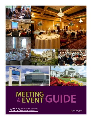 Small Meetings Facility Guide - Amish Country