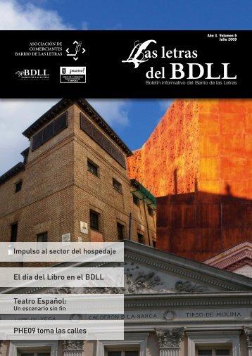 Boletín INFORMATIVO DEL BARRIO DE LAS LETRAS. Volumen 6 ...
