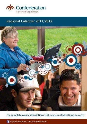 Regional Calendar 2011/2012