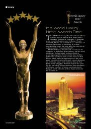 AT OCTOBER 2009.pmd - World Luxury Hotel Awards