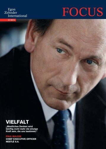 vielfalt - Egon Zehnder International