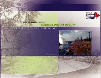 Tourism Policy Review Implementation Handbook - Niagara Falls ...