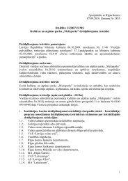 DARBA UZDEVUMS - Rīgas domes Pilsētas attīstības departaments