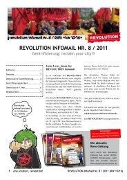 REVOLUTION INFOMAIL NR. 8 / 2011