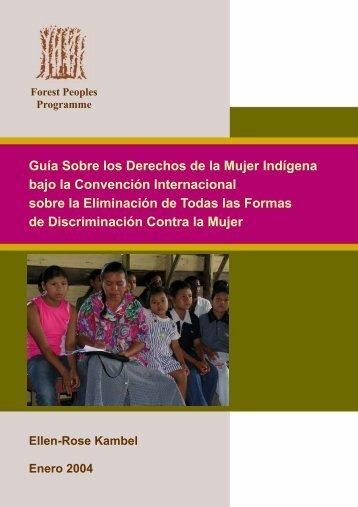 Guía Sobre los Derechos de la Mujer Indígena - Forest Peoples ...