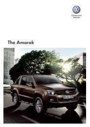 The Amarok - Volkswagen Commercial Vehicles