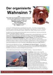 Der organisierte Wahnsinn - Dr. med. dent. Wolfgang Burk ...