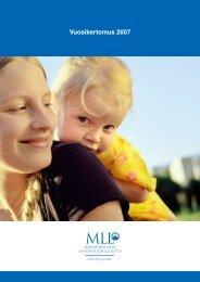MLL:n vuosikertomus 2007 - Mannerheimin Lastensuojeluliitto