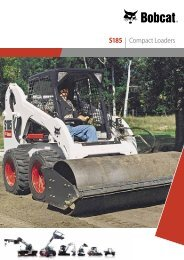 S185 | Compact Loaders - Bobcat.eu
