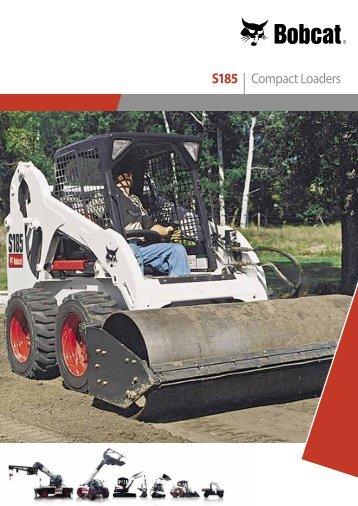 S185 | Compact Loaders - Bobcat.eu