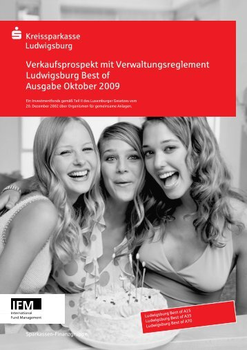Ludwigsburg Best of, ausf. Verkaufsprospekt - Kreissparkasse ...