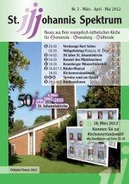 Heft Mär. - Mai 2012 - St. Johannis Bemerode
