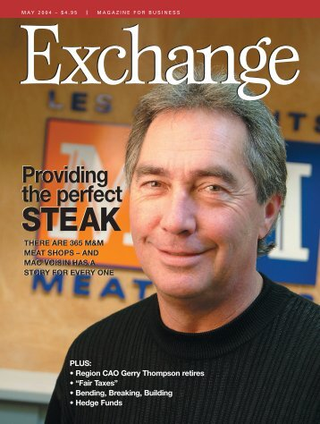 Download pages 1 - 21 (5.8 MB) - Exchange Magazine