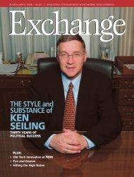 Exchange March/April 2006 pgs. 01-13 - Exchange Magazine