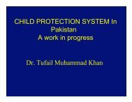 What is child protection? - Fair Play For Children