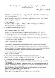 Referat fra Hjerneskadeforeningens generalforsamling 15. januar ...