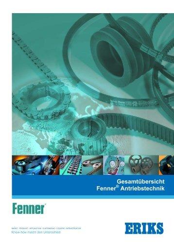 Leistungsprogramm Fenner Antriebstechnik - ERIKS