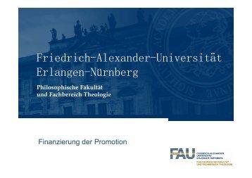Präsentation - Blogdienst der Universität Erlangen-Nürnberg ...