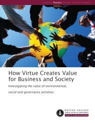 How Virtue Creates Value for Business and Society - CommDev