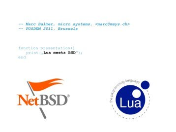 Lua - NetBSD