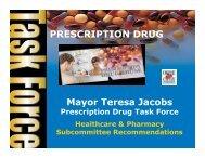Healthcare & Pharmacy Subcommittee - OrangeCountyFl.net